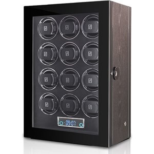 Paul Design Gentlemen 12 Black Apricot watchwinder
