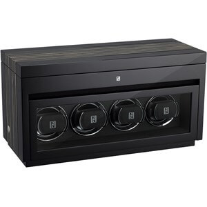 Paul Design Gentlemen 4+6 Black Shadow watch winder