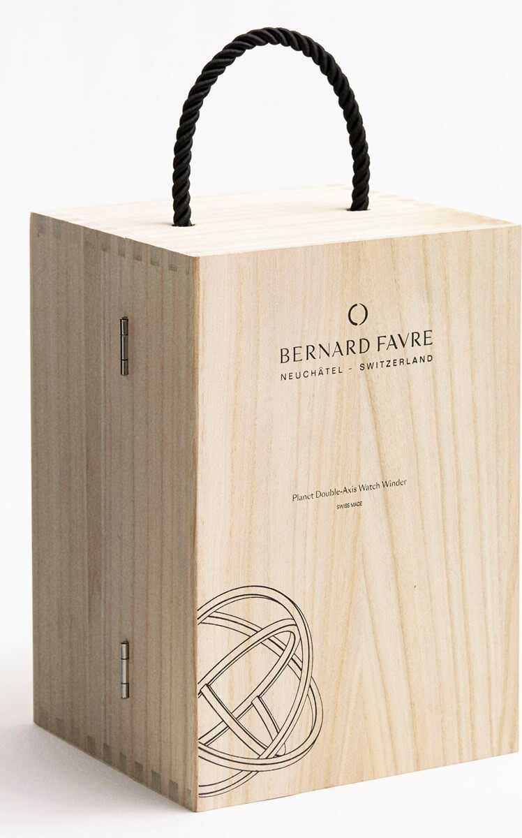 Bernard Favre Planet Singular Gun watch winder