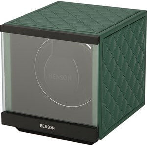Benson Swiss Series Single 1.20 Green Leather